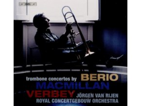 RIJEN / ROYAL CONCERTGEBOUW - Trombone Concertos By Berio. Macmillan & Verbey (SACD)