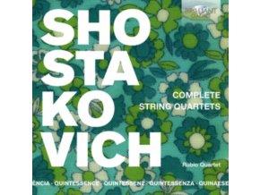 RUBIO QUARTET - Quintessence Shostakovich: Complete String Quartets (CD)