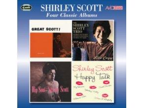 SHIRLEY SCOTT - Four Classic Albums (CD)