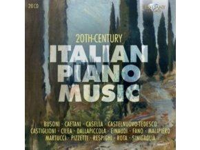 SIMONACCI-EINAUDI-VAN VEEN-VARIOUS - Einaudi-Busoni-Respighi - 20Th Century Italian Piano Music (CD Box Set)