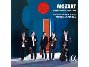 QUATUOR VAN KUIJK / ADRIEN LA MARCA - Mozart: String Quintets K. 515 & 516 (CD)