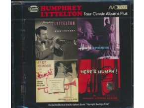 HUMPHREY LYTTELTON - Four Classic Albums Plus (Jazz Concert / Jazz Session With Humph / Humph In Perspective / Heres Humph!) (CD)