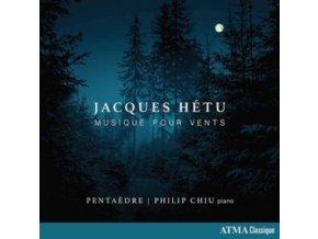 PENTAEDRE & PHILIP CHIU - Jacques Hetu: Music For Winds (CD)