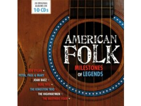 Various Artists - American Folk (Milestones of Legends) (Music CD)