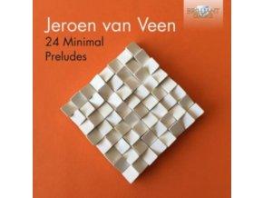 JEROEN VAN VEEN - Jeroen Van Veen: 24 Minimal Preludes: Jeroen Van Veen (CD)