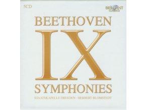 STAATSKAPELLE / BLOMSTEDT - Beethoven: Complete Symphonies (CD)