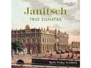 BERLIN FRIDAY ACADEMY - Janitsch Trio Sonatas (CD)