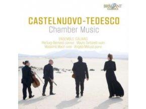 ENSEMBLE ITALIANO - Castelnuovo-Tedesco Chamber M (CD)
