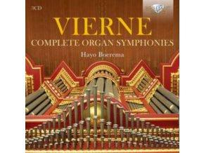 HAYO BOEREMA - Vierne Complete Organ Symphon (CD)