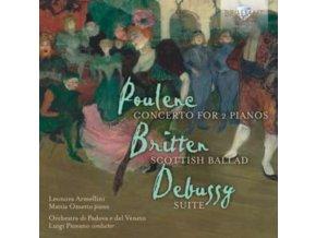 MATTIA OMETTO / LEONORA ARMELLI - Poulenc. Britten. Debussy Con (CD)