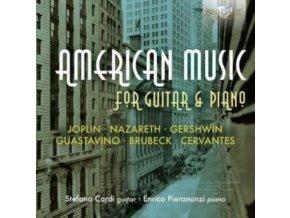 STEFANO CARDI / ENRICO PIERANUN - American Music For Guitar & Pi (CD)
