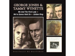 George Jones - Me & The First Lady/We're Gonna Hold On (Music CD)