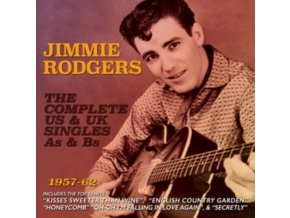 JIMMIE RODGERS - The Complete Us & Uk Singles As & Bs 1957-62 (CD)