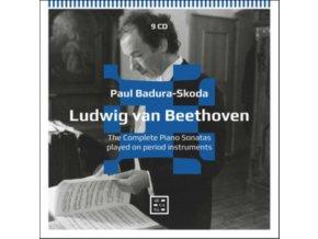 PAUL BADURA-SKODA - Beethoven: The Complete Piano Sonatas Played On Period Instruments (CD)