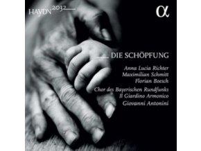 ANNA LUCIA RICHTER / FLORIAN BOESCH / GIOVANNI ANTONINI / IL GIARDINO ARMONICO / MAXIMILIAN SCHMITT / CHOR DES BAYERISCHEN RUNDFUNKS - Haydn: Die Schopfung (CD)