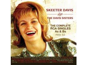 SKEETER DAVIS / THE DAVIS SISTERS - The Complete Rca Singles As & Bs 1953-1962 (CD)