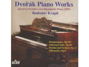 RADOSLAV KVAPIL - Dvorak Pno Music On His Own Piano (CD)