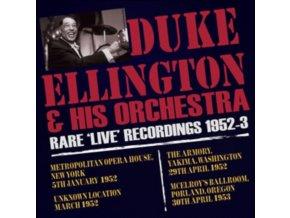 THE DUKE ELLINGTON ORCHESTRA - Rare Live Recordings 1952-53 (CD)