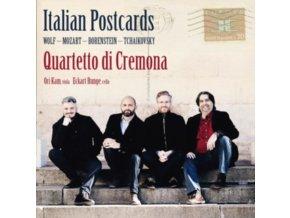QUARTETTO DI CREMONA - Italian Postcards: Works By Wolf. Mozart. Borenstein. Tchaikovsky (CD)