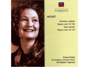 EMMA KIRKBY/ACADEMY OF ANCIENT - Mozart/Exsultate Jubilate (CD)