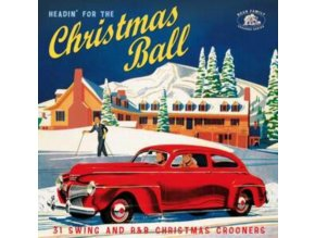 VARIOUS ARTISTS - Headin For The Christmas Ball (31 Swing And R&B Xmas Crooners) (CD)