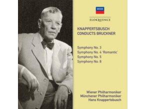 HANS KNAPPERTSBUSCH / WIENER PHILHARMONIKER - The Decca & Westminster Bruckner Recordings (CD)