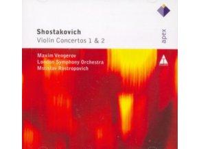 MAXIM VENGEROV - Shostakovich/Violin Concertos 1 & 2 (CD)