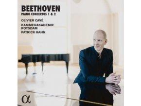 OLIVIER CAVE / KAMMERAKADEMIE POTSDAM / PATRICK HAHN - Beethoven: Piano Concertos 1 & 2 (CD)
