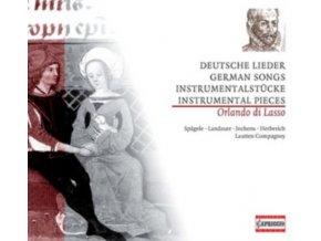 LAUTTEN COMPAGNEY - Di Lassogerman Songs Instrumental (CD)