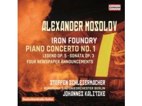 VARIOUS ARTISTS - Alexander Mosolov: Iron Foundry / Piano Concerto No. 1 (CD)