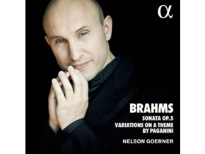 NELSON GOERNER - Brahms: Sonata 3 Op.5 & Variations On A Theme By Paganini (CD)