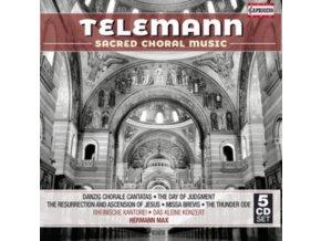RHEINISCHE KANTOREI / MAX - Telemann / Sacred Choral Music (CD Box Set)