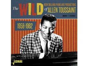ALLEN TOUSSAINT - The Wild New Orleans Piano And Productions Of Allen Toussaint 1958-1962 (CD)