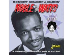 NOBLE THIN MAN WATTS - Honkin. Shakin & Slidin - Singles Collection 1954-1962 Feat. June Bateman (CD)