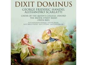 CHOIR OF QUEENS COLLEGE OXFORD - A. Scarlatti Handel Dixit Dom (CD)