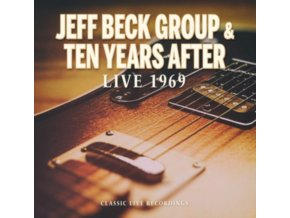 JEFF BECK & TEN YEARS AFTER - Live 1969 (CD)