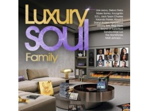 VARIOUS ARTISTS - Luxury Soul Family 2021 (CD)