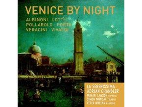 LA SERENISSIMA & ADRIAN CHANDLER - Venice By Night (CD)