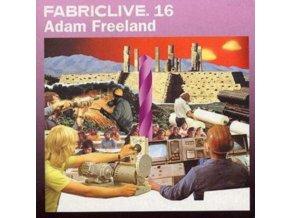 VARIOUS ARTISTS - Fabriclive 16 - Adam Freeland (CD)
