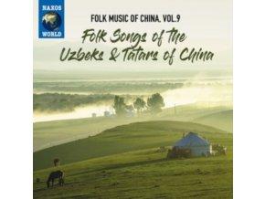VARIOUS ARTISTS - Folk Music Of The Uzbeks & Tatars Of China (CD)