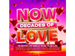 Various Artists - NOW Decades Of Love (Music CD)