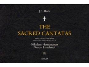 Johann Sebastian Bach - Sacred Cantatas  The (Harnoncourt  Leonhardt) [60 CD Set]