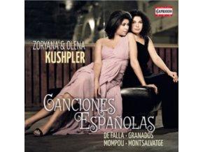 KUSHPLER  KUSHPLER - Canciones Espanolas (CD)