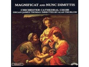 CHICHESTER CATHEDRAL CHOIR / THURLOW - Magnificat And Nunc Dimittis Vol 2 (CD)
