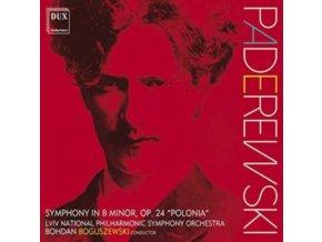 LVIV NATIONAL PHILHARMONIC SYMPHONY ORCHESTRA & BOHDAN BOGUSZEWSKI - Paderewski: Symphony In B Minor. Op.24 Polonia (CD)