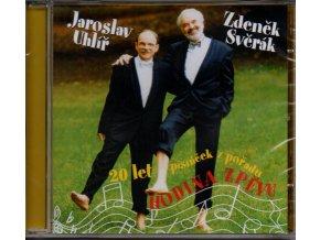cd jaroslav uhlíř zdeněk svěrák 20 let písniček z pořadu hodina zpěvu