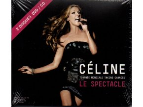 cd + dvd celine dion tournée mondiale taking chances le spectacle