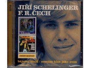 2 cd jiří schelinger f.r. čech báječní muži nemám hlas jako zvon