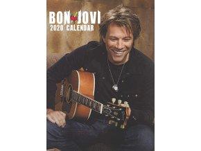 bon jovi kalendář 2020 a3