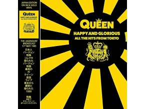 queen happy and blorious all the hits from tokyo lp vinyl